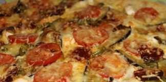 Recette de tarte à l'aubergine et au chorizo